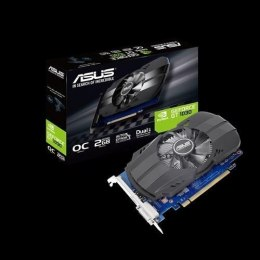 Asus PH-GT1030-O2G NVIDIA, 2 GB, GeForce GT 1030, GDDR5, PCI Express 3.0, Processor frequency 1531 MHz, DVI-D ports quantity 1,