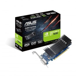 Asus GT1030-SL-2G-BRK NVIDIA, 2 GB, GeForce GT 1030, GDDR5, PCI Express 3.0, Processor frequency 1506 MHz, DVI-D ports quantity