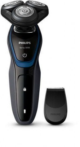 Philips Shaver for Men S5100/06 Warranty 24 month(s), Rechargeable, Charging time 1 h, Lithium-ion, Battery life 0,7 h, Battery,