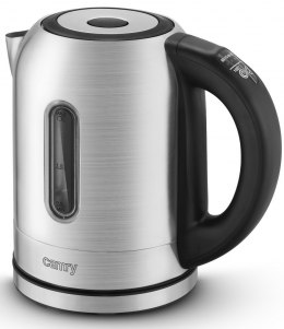 Camry Kettle CR 1253 With electronic control, 2200 W, 1.7 L, Stainless steel, Stainless steel, 360° rotational base