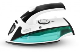 Camry CR 5024 White/green/black, 840 W, Steam Travel iron, Vertical steam function, Water tank capacity 40 ml