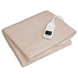 Camry Electric blanket CR 7407 Number of heating levels 5, Number of persons 1, Washable, Soft polar fleece, 60 W, White