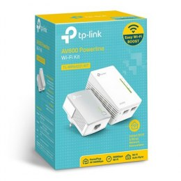 TP-Link TL-WPA4221 KIT Powerline Wi-Fi Kit , 2x10/100Mbps ports, 2.4GHz., 600Mbps