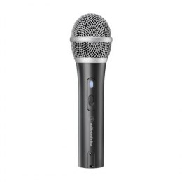 Audio Technika ATR2100x-USB Cardioid Dynamic Microphone, USB-C/XLR, Black, Wireless