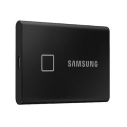 Samsung Portable SSD T7 500 GB, USB 3.2, Black, with fingerprint and password security