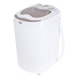 Adler Mini washing machine AD 8055 Top loading, Washing capacity 3 kg, Depth 37 cm, Width 36 cm, White