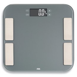 ADE Scale Malou BA1807 Body analyzer, Maximum weight (capacity) 180 kg, Accuracy 100 g, Body Mass Index (BMI) measuring, Grey