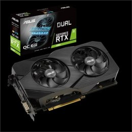Asus DUAL-RTX2060-O6G-EVO NVIDIA, 6 GB, GeForce RTX 2060, GDDR6, PCI Express 3.0, Processor frequency 1695 MHz, DVI-D ports quan