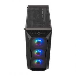 Cooler Master MasterBox TD500 ARGB Side window, Black, ATX, Power supply included No