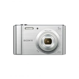 "Sony DSC-W800 Compact camera, 20.1 MP, Optical zoom 5 x, Digital zoom 40 x, Image stabilizer, ISO 3200, Display diagonal 2.7 "","