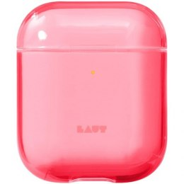 LAUT CRYSTAL-X for AirPods 1/2 Polycarbonate, Charging Case, Anti-scratch coating, Electric Coral