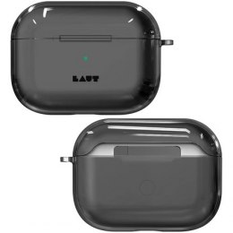 LAUT CRYSTAL-X for AirPods Pro Crystal Black, Polycarbonate, Charging Case, Anti-scratch coating