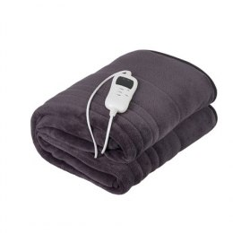 Camry Electric blanket CR 7418 Number of heating levels 7, Number of persons 1, Washable, Coral fleece, 110-120 W, Brown
