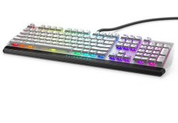 Dell AW510K Mechanical Gaming keyboard, Wired, Keyboard layout EN, USB, Black/Silver, English