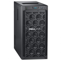 "Dell PowerEdge T140 Tower, Intel Xeon, E-2224, 3.4 GHz, 8 MB, 4T, 4C, UDIMM DDR4, 2666 MHz, No RAM, No HDD, Up to 4 x 3.5"", PERC"
