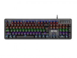 FURY TORNADO Gaming Keyboard, US Layout, Wired, Black Fury TORNADO Gaming keyboard, RGB LED light, US, Wired, Black