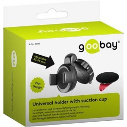Goobay Slim in-car suction cup mount for smartphones