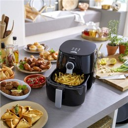Philips Viva Collection Airfryer HD9721/10 Power 1500 W, Capacity 0.8 L, Twin TurboStar technology, Black