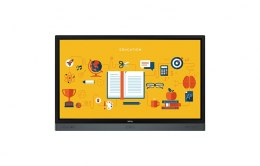 "BenQ RP6501K 65"" Interactive Flat Panel Display 3840x2160/8ms/450cd/m2/ VGA HDMI DP USB Black"