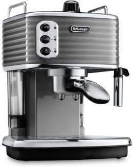 Delonghi Scultura Coffee maker ECZ351.GY Pump pressure 15 bar, Built-in milk frother, Semi-automatic, 1100 W, Grey
