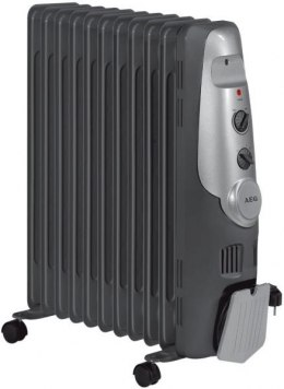 AEG 11-fin Oil radiator, 1000/1200/2200 Watt W, Black