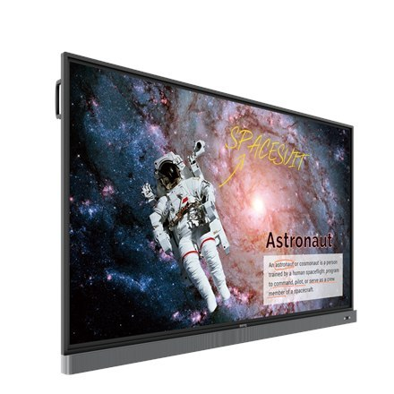 "BenQ RM8602K 86"" Interactive Flat Panel Display 3840x2160/8ms/350cd/m2/ VGA HDMI DP USB Black"
