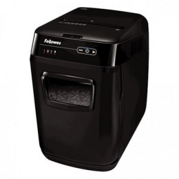 Fellowes Auto Feed Shredder AutoMax 200C Black, 32 L, Paper shredding, Shredding CDs, Credit cards shredding, 60 dB, AccuFe