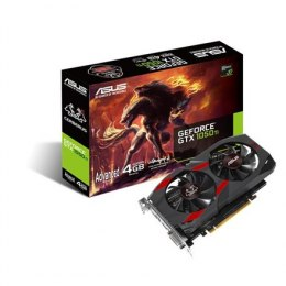 Asus Cerberus Advanced Edition NVIDIA, 4 GB, GeForce GTX 1050 Ti, GDDR5, PCI Express 3.0, Processor frequency 1328 MHz, DVI-D po