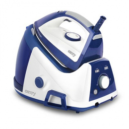 Camry Steam generator CR 5027 White/ dark blue, 2600 W, 1.6 L, 4 bar, Calc-clean function