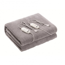 Camry Electric blanket CR 7413 Number of heating levels 2, Number of persons 1, Washable, 2x60 W, Grey