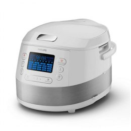 Philips Multicooker HD4731/70 White, Number of programs 19+ pre-set programs, 5 L