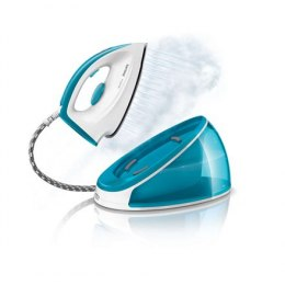 Philips SpeedCare Steam generator iron GC6606/20 White/ blue, 2400 W, 1.2 L, 4.4 bar, Vertical steam function, Calc-clean functi