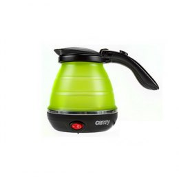 Camry CR 1265 Travel kettle, Plastic, Green, 750 W, 0.5 L