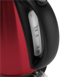 ETA Kettle 359090010 Standard, Stainless steel, Red, 2200 W, 1.7 L, 360° rotational base
