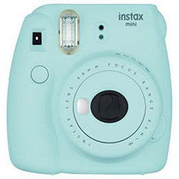 Fujifilm Instax Mini 9 camera Ice Blue, 0.6m - ∞