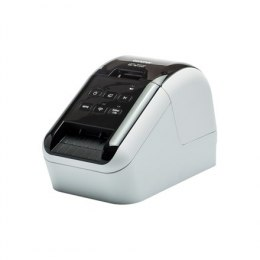 Brother QL-810W Thermal, Label Printer, Wi-Fi, Black, White