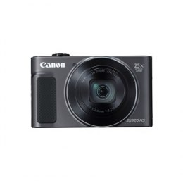 Canon PowerShot SX620 HS Black Canon PowerShot SX620 HS Compact camera, 20.2 MP, Optical zoom 25 x, ISO 3200, Display diagonal 7