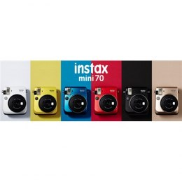 Fujifilm Instax Mini 70 camera + Instax mini glossy (10) Red, 0.3m - ∞