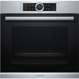 Bosch Oven Serie 8 HRG675BS1S 71 L, Stainless steel, Pyrolytic, Touch, Height 54.8 cm, Width 59.5 cm