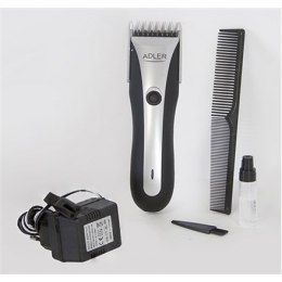 Adler AD 2813 Hair clipper, Cord/cordless operation, 7 length settings, Silver Adler AD 2813 Warranty 24 month(s), Hair clipper