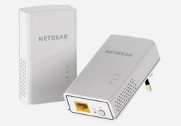 Netgear Powerline (2pcs Kit) PL1000-100PES 10/100/1000 Mbit/s, Ethernet LAN (RJ-45) ports 1, Data transfer rate (max) 1000 Mbit