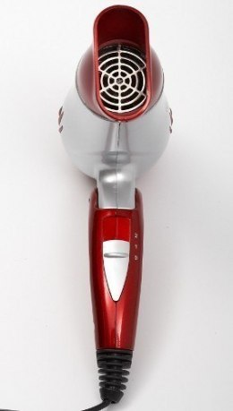 Hair Dryer Mesko Warranty 24 month(s), Foldable handle, Motor type DC, 1200 W, Red/Silver