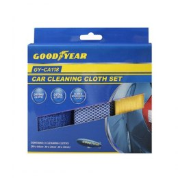 Goodyear Car Cleaning Set, 3 pcs.