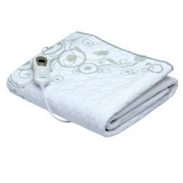 Heating Blanket Lanaform LA180109 Number of heating levels 3, Number of persons 1, Washable, Polyester, 75 W, Grey, White