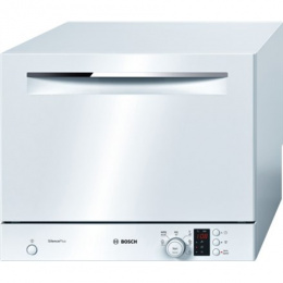 Bosch Dishwasher SKS62E22EU, 450 x 551 x 500, Number of place settings 6, Number of programs 6, A+, AquaStop function, White