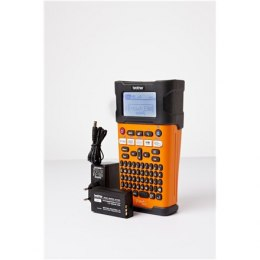 Brother PT-E300VP Thermal, Label Printer, Black, Orange