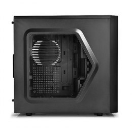 Deepcool Tesseract Side window, USB 3.0 x1, USB 2.0 x1, Mic x1, Spk x1, Black, ATX, Power supply included No