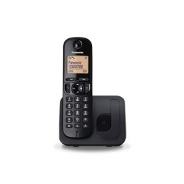 Panasonic Cordless KX-TGC210FXB Black, Built-in display, Speakerphone, Caller ID, Phonebook capacity 50 entries