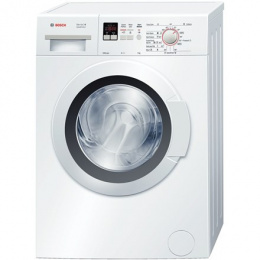 Bosch Washing machine WLG24160BY Front loading, Washing capacity 5 kg, 1200 RPM, A+++, Depth 40 cm, Width 60 cm, White, LED, Dis