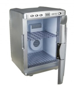 Camry Refrigerator CR 8062 Free standing, Car, Height 45.3 cm, C, Fridge net capacity 19 L, Display, 38 dB, Silver